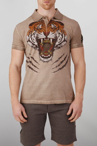 Tigerking Tijger Heren Polo