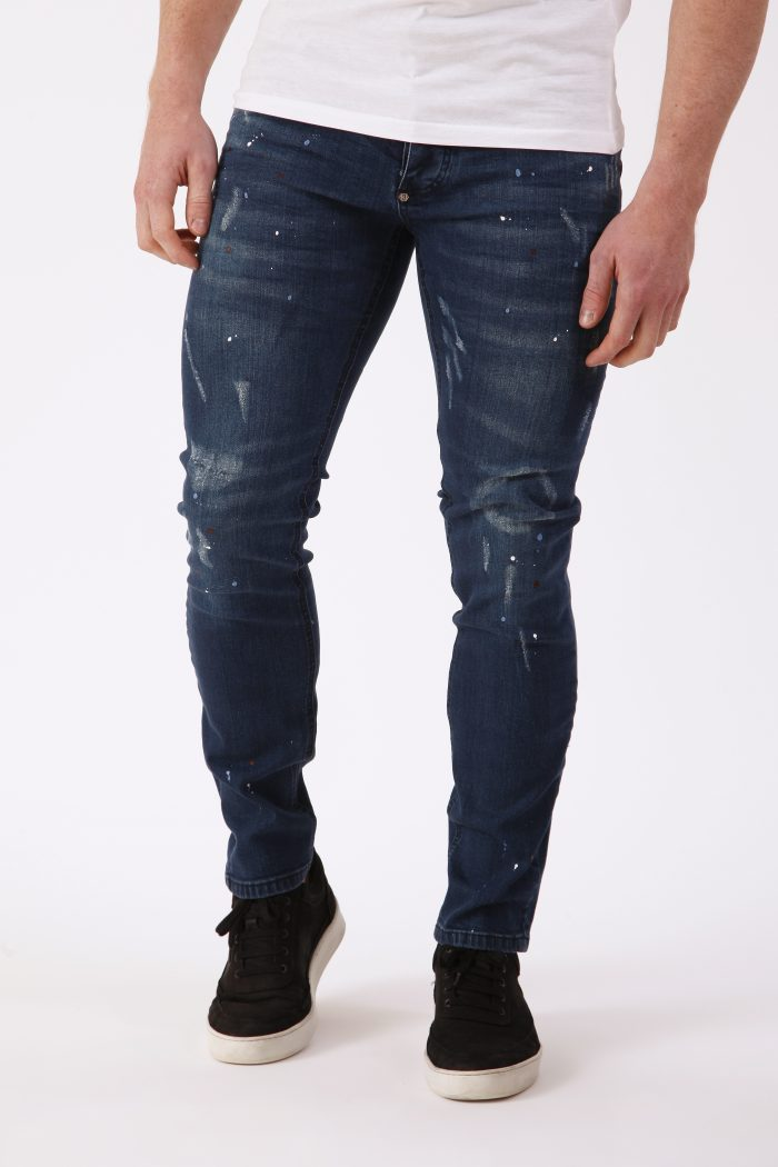 Denim Jeans Heren Peinto