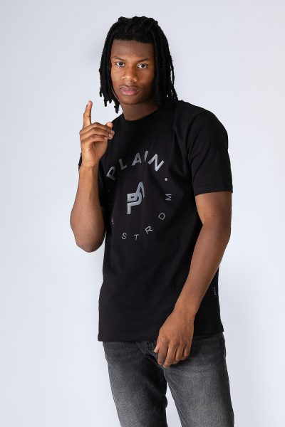 Plain Praia black T-shirt